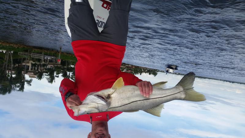 Click image for larger version.  Name:My 2nd big snook.jpg Views:153 Size:58.4 KB ID:158009