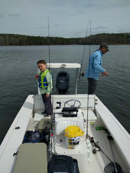Click image for larger version.  Name:My boy fishing with me 25mar17.jpg Views:292 Size:38.1 KB ID:135378